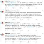 Tweet SNES-FSU - Déconfinement le 11 mai 2/3
