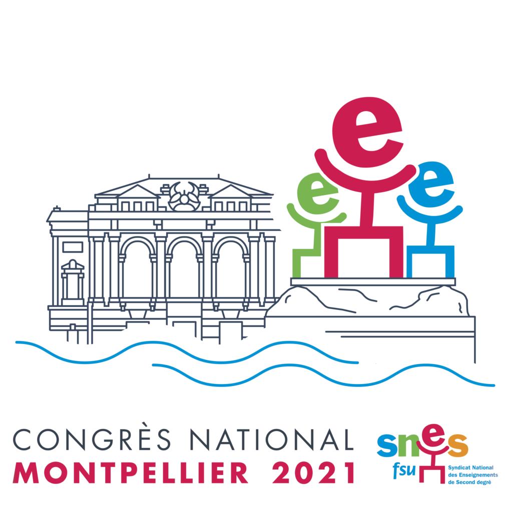 Congrès Montpellier 2021 - Logo carré