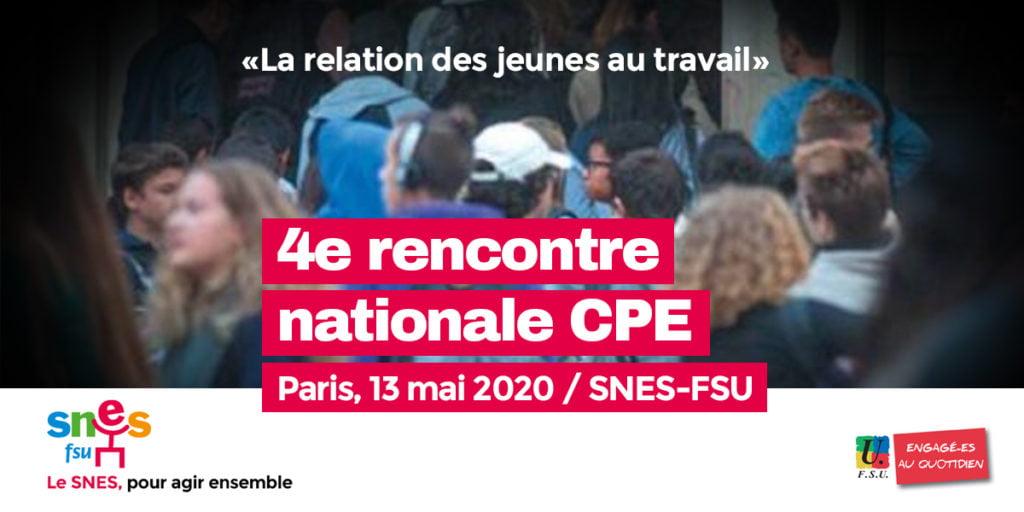 4e Rencontre nationale CPE