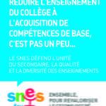 Réduire l'enseignement à des compétences - Cadre Bleu - Format JPG - 574 ko