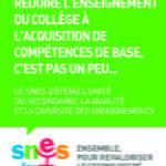 Réduire l'enseignement à des compétences - Cadre Vert - Format JPG - 580 ko