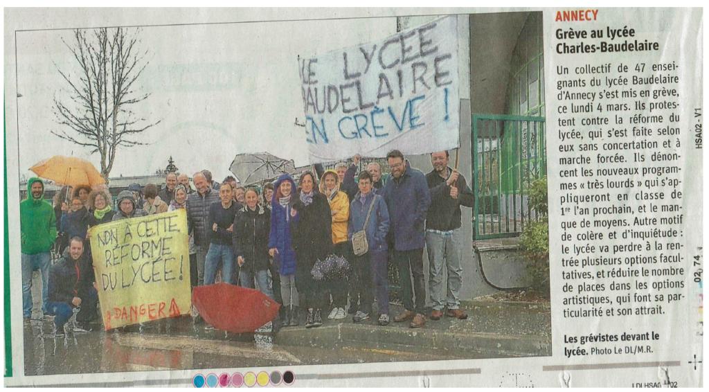 Lycée Charles Baudelaire - Annecy - académie de Grenoble