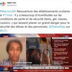 Tweet SNES-FSU - Réaction S. Venetitay