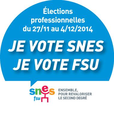 Vote SNES rond bleu