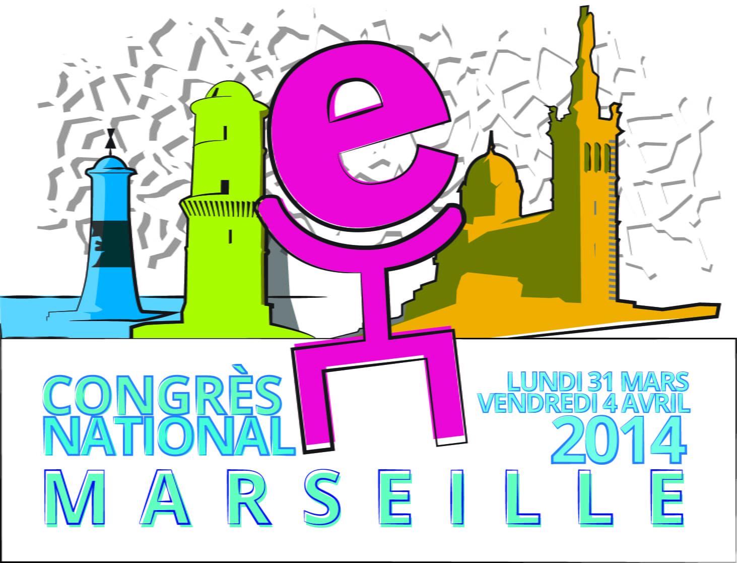 affiche congrès de Marseille